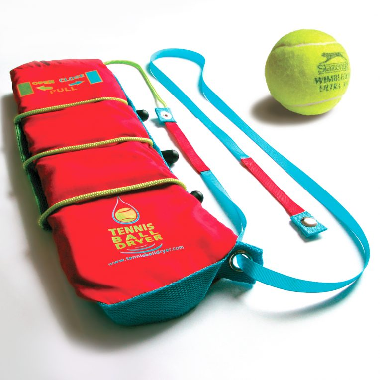 tennis ball dryer, tennis gift, balls and accessories